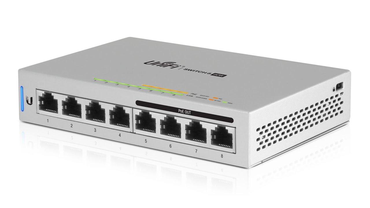 Ubiquiti UniFi Switch 8 60W (US-8-60W)