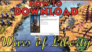 How to download & install Age of Empires III - Wars of Liberty (Mod)