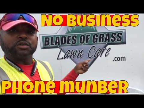 Why don't I display my lawn care business number on my trucks or trailers