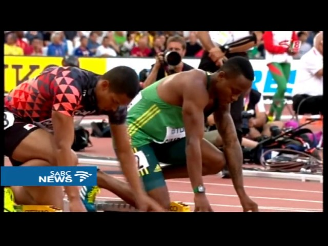 Akani Simbine makes it to the final in 100m