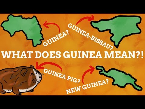 Why Do Many Countries Have Guinea In Their Name?