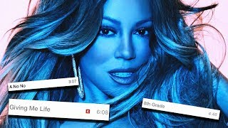 MARIAH CAREY CAUTION TRACK LENGTHS!