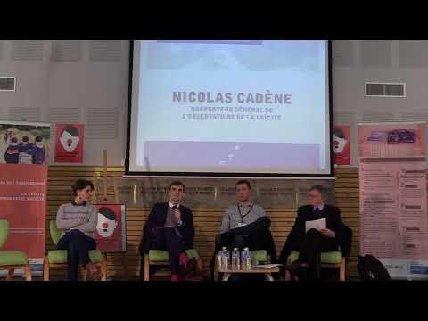 """Table ronde """"Eduquer à la la laïcité"""" - Nicolas Cadène"""