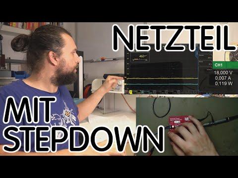 ⚡ Netzteil Mit Step-Down-Modul 💥 Kann Das Funktionieren?