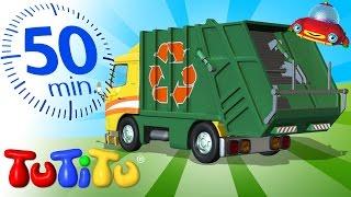 TuTiTu Đồ chơi | xe chở rác | Và các Đồ chơi bổ sung | 50 phút