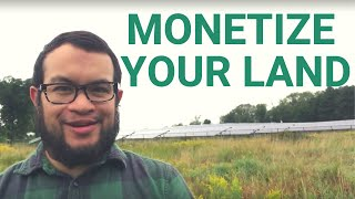 How You Can Monetize Your Land With Solar