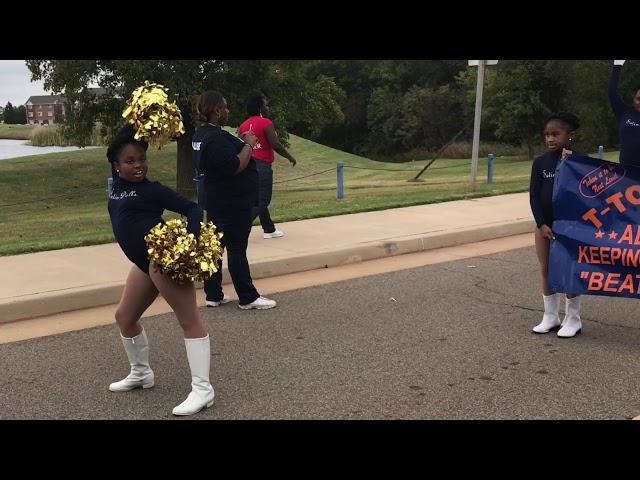 2017-2018 T-Town Satin Dolls LU Homecoming parade