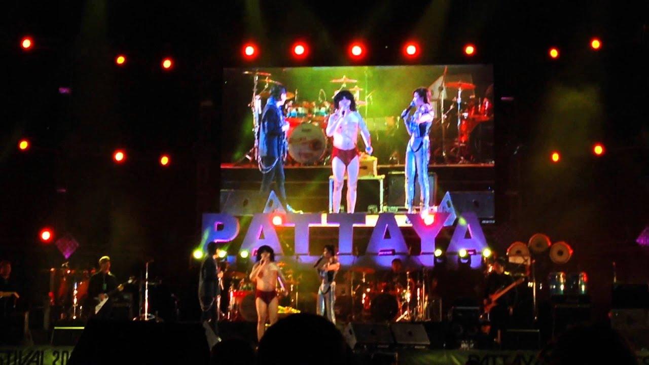 การแสดงบนเวที (Pattaya Music Festival 2015)