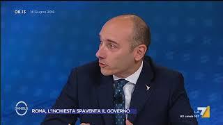 Omnibus - Roma, l'inchiesta spaventa il governo (Puntata 14/06/2018) thumbnail