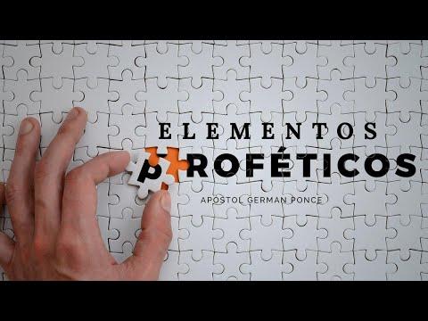 Apóstol German Ponce │ Elementos Proféticos │ martes 21 enero 2020