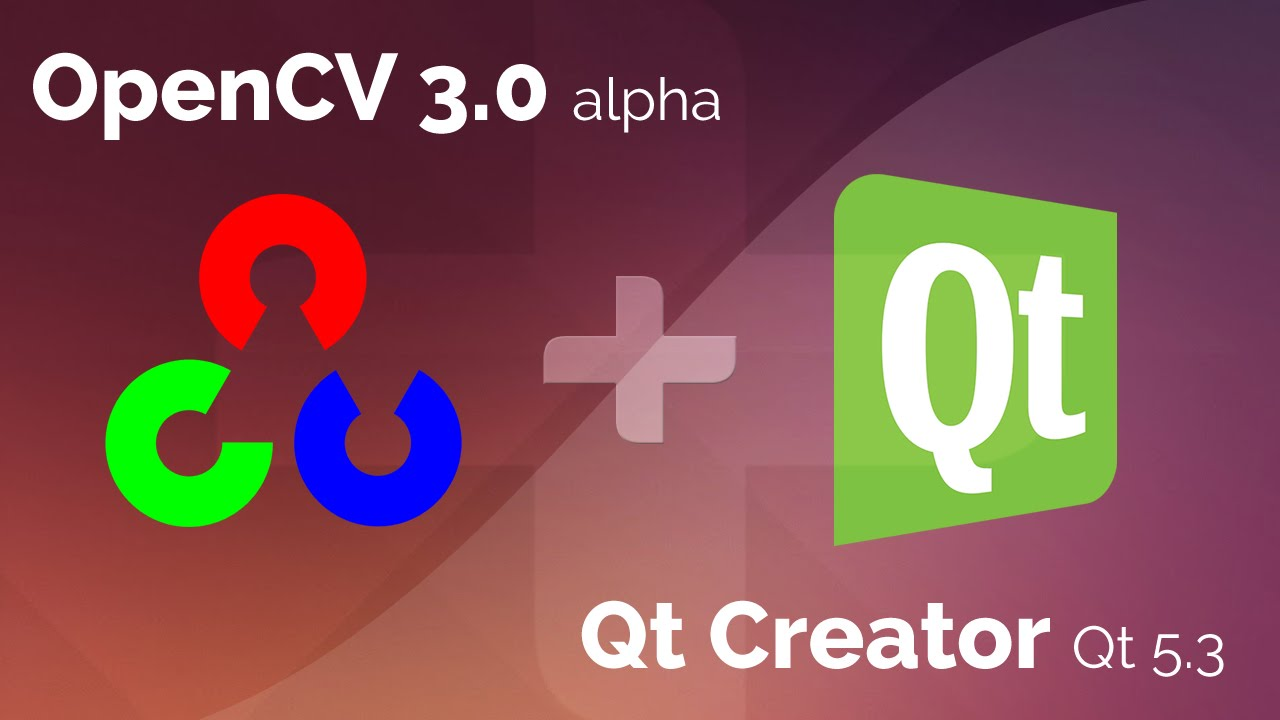 Using Opencv On Qt Creator 32 Qt 53 Youtube