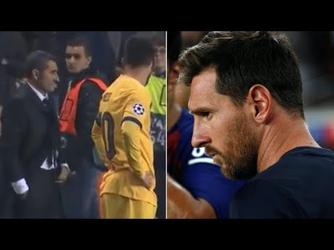 Barcelona News Round-Up ft the Lionel Messi/Ernesto Valverde situation
