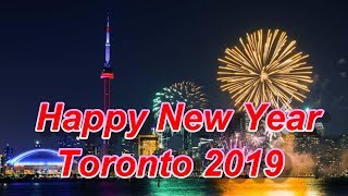 Happy New Year 2019 #Toronto #Canada