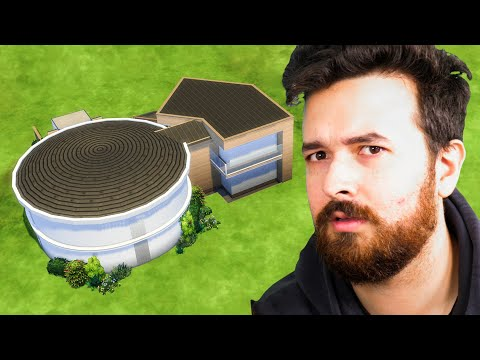 Curved Walls in The Sims 4 - Circle House Build