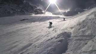 ski extreme, Couturier aiguille Verte MontBlanc, Chamonix