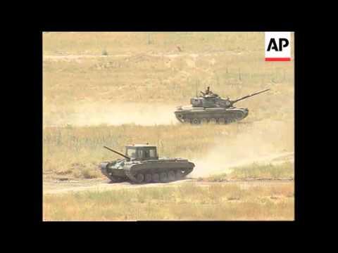 TURKEY: BOSNIAN TROOPS IN TRAINING TO REVITALISE POST WAR ARMY