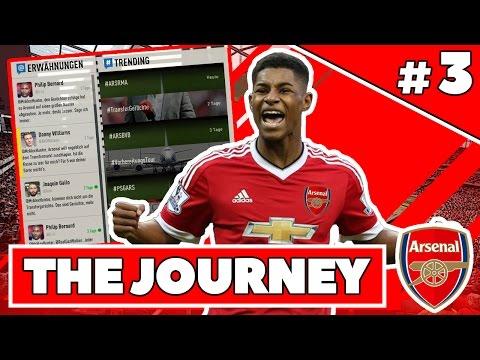 FIFA 17: THE JOURNEY #3 | HUNTERS ERSTES PREMIER LEAGUE TOR! | DEUTSCH VOLLVERSION GAMEPLAY