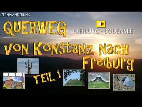 QUERWEG Freiburg - Bodensee - umgekehrt - TEIL 1