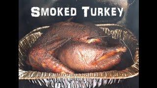 Smoked Turkey Using Myron Mixon Smokin Book