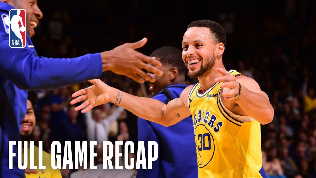 PACERS vs WARRIORS | Golden State Turns It Up In The Second Half | March 21, 2019