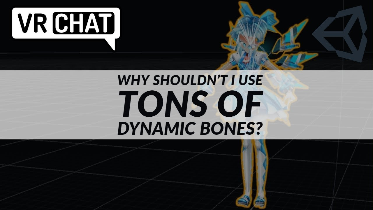 VRChat - Here's Why Dynamic Bones Steal Your Frames - YouTube