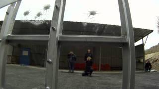 Тестовая стрельба монолитного поликарбоната(Испытания монолитного поликарбоната., 2012-02-16T08:57:04.000Z)