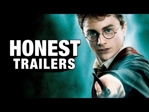 Random Movie Pick - Honest Trailers - Harry Potter YouTube Trailer