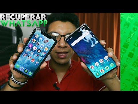Como Pasar Conversaciones De WHATSAPP A Otro Celular | Dispositivos Android Y IOS