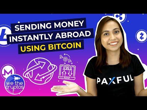Sending Bitcoin Abroad
