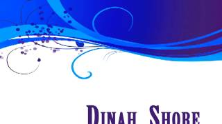 Dinah Shore - Laughing on the outside