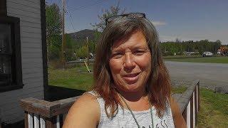 Alaska Road Trip, British Columbia: BEAR!!! Ice & Snow!! Fire Truck! Old Church!  History!