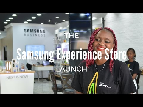 VLOG // Samsung Experience Store Launch | Lyraoko.com