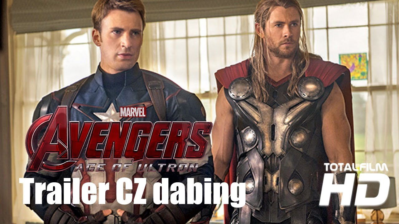 Avengers: Age of Ultron (2015) CZ HD dabing trailer
