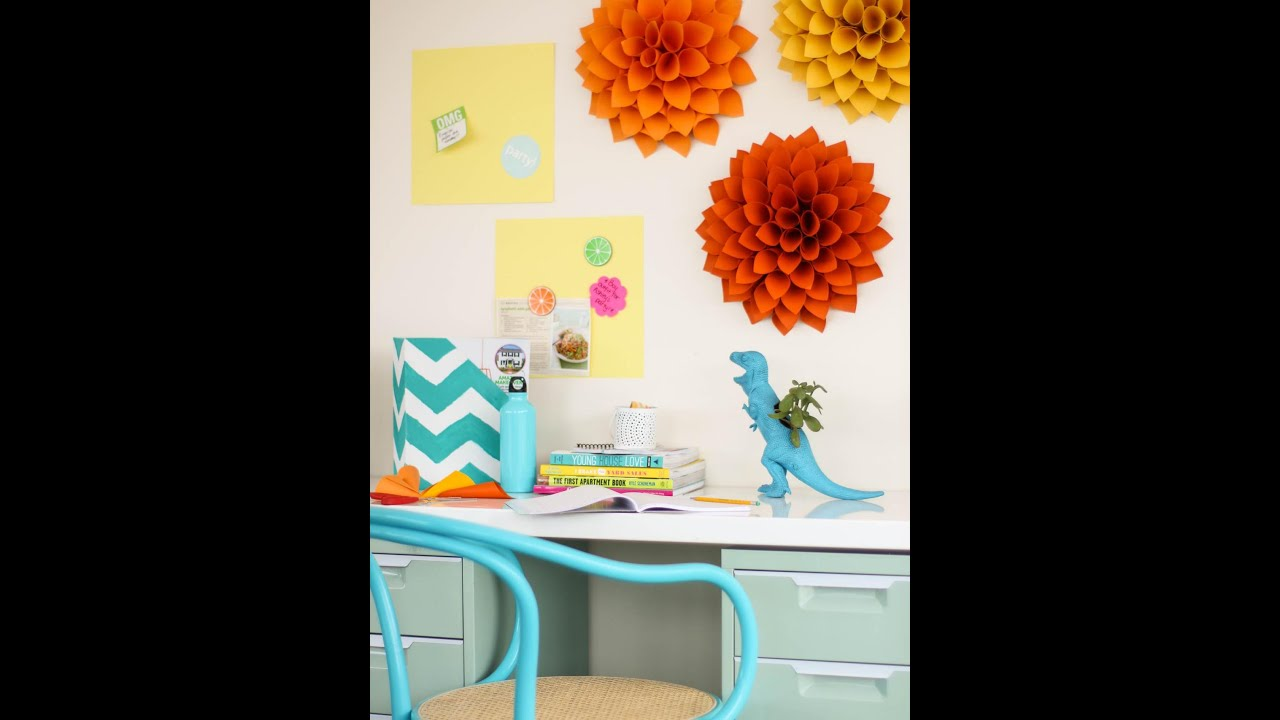 Fun Crafts to Decorate Your Room - YouTube on How To Decorate Your Room  id=52102