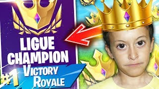 I PAS IN CHAMPION LEAGUE THANKS TO THIS GAME ON FORTNITE BATTLE ROYALE!