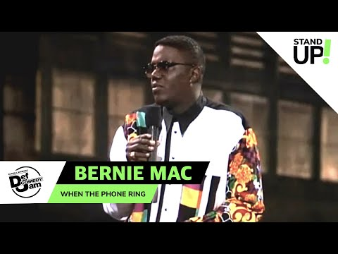 Bernie Mac is Mr. Telephone Man   Def Comedy Jam   Laugh Out Loud Network