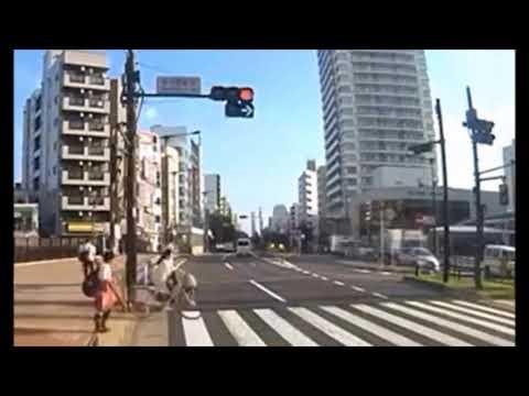 吉澤ひとみ容疑者によるひき逃げ事件の瞬間 / 泥酔状態の飲酒運転