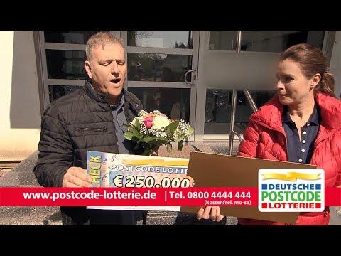 Postcode-Monatsgewinn - Kleiner Scheck, Große Emotionen