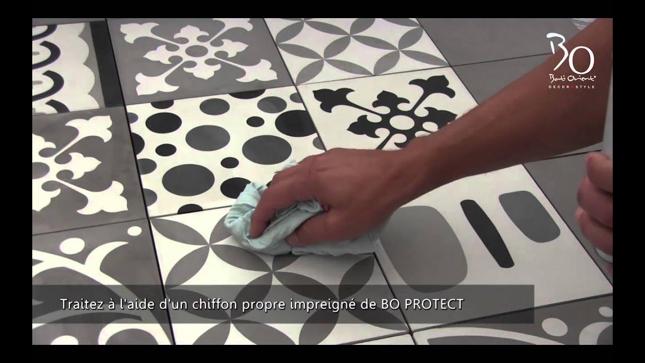 comment poser et entretenir vos carreaux de ciment avec. Black Bedroom Furniture Sets. Home Design Ideas
