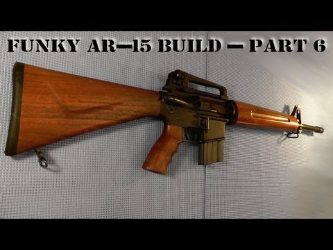 Funky AR-15 Build - Part  6 - Epic Upper Drama