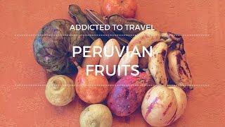 Owocowe smaki Peru