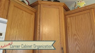 Kitchen Organization: Awkward Corner Cabinets & Lazy Susans