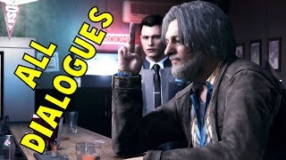 Connor Meets Hank - All Dialogues - Detroit Become Human HD PS4 Pro<
