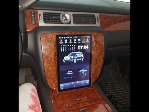 Installation Video: 12.1 inch Android unit for 2007 - 2014 Tahoe Yukon Suburban Silverado Sierra
