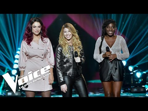Julia Michaels Issues  JAT  The Voice France 2018  Auditions Finales