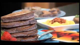 Navajo Pride Part 2 - Preparing Blue Corn Pancakes