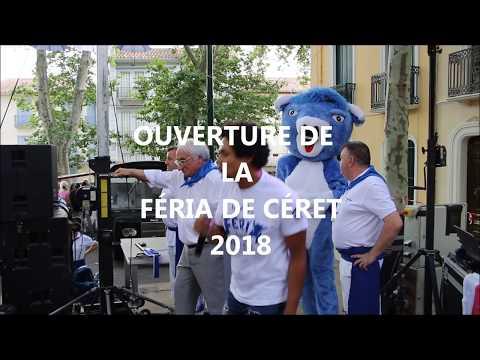 CÉRET, OUVERTURE DE LA FÉRIA 2018