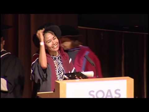 Honorary Fellowship: Ms Desi Anwar, 2013 Graduation, SOAS, University of London