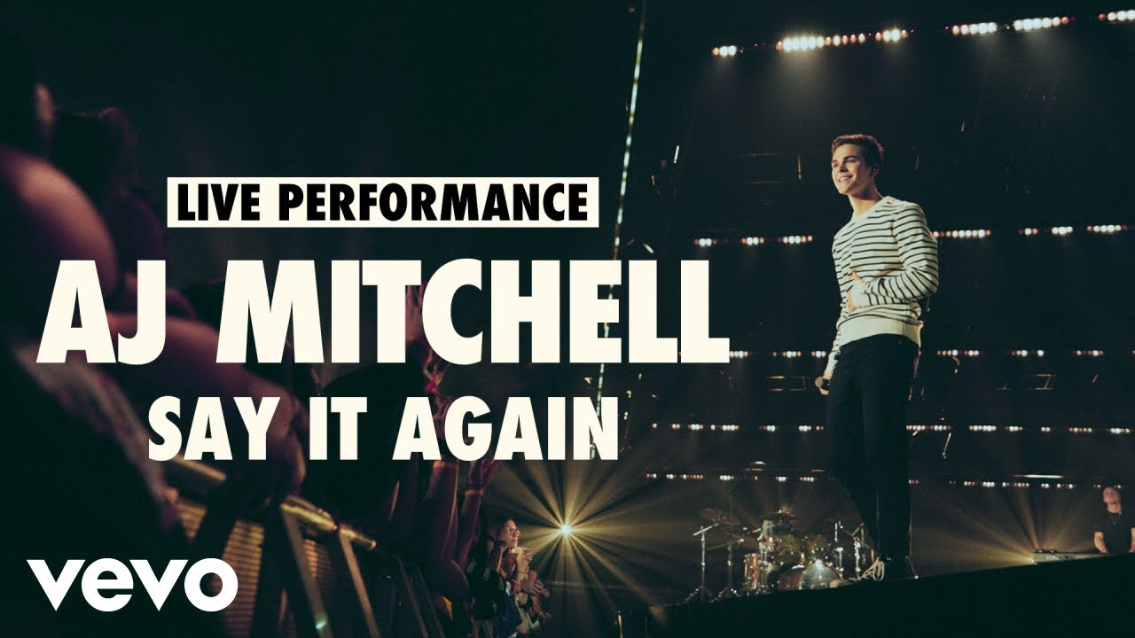 AJ Mitchell - Say It Again (Live)   Vevo LIFT Live Sessions