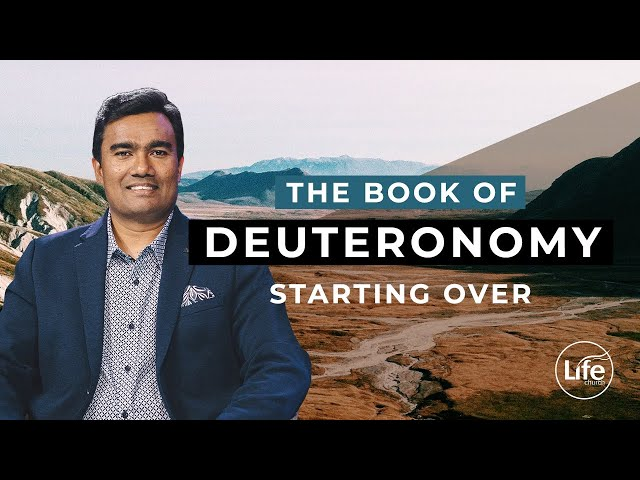 Deuteronomy 1 - Starting Over | Rev Paul Jeyachandran